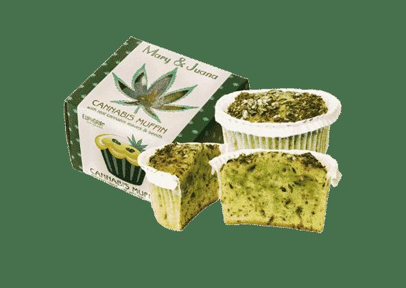 Mary&Juana Muffin Cannabis