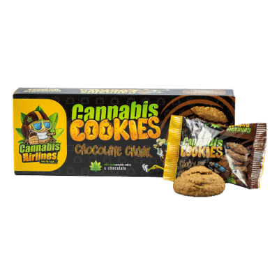 Cannabis Cookies Chocolate Chunk