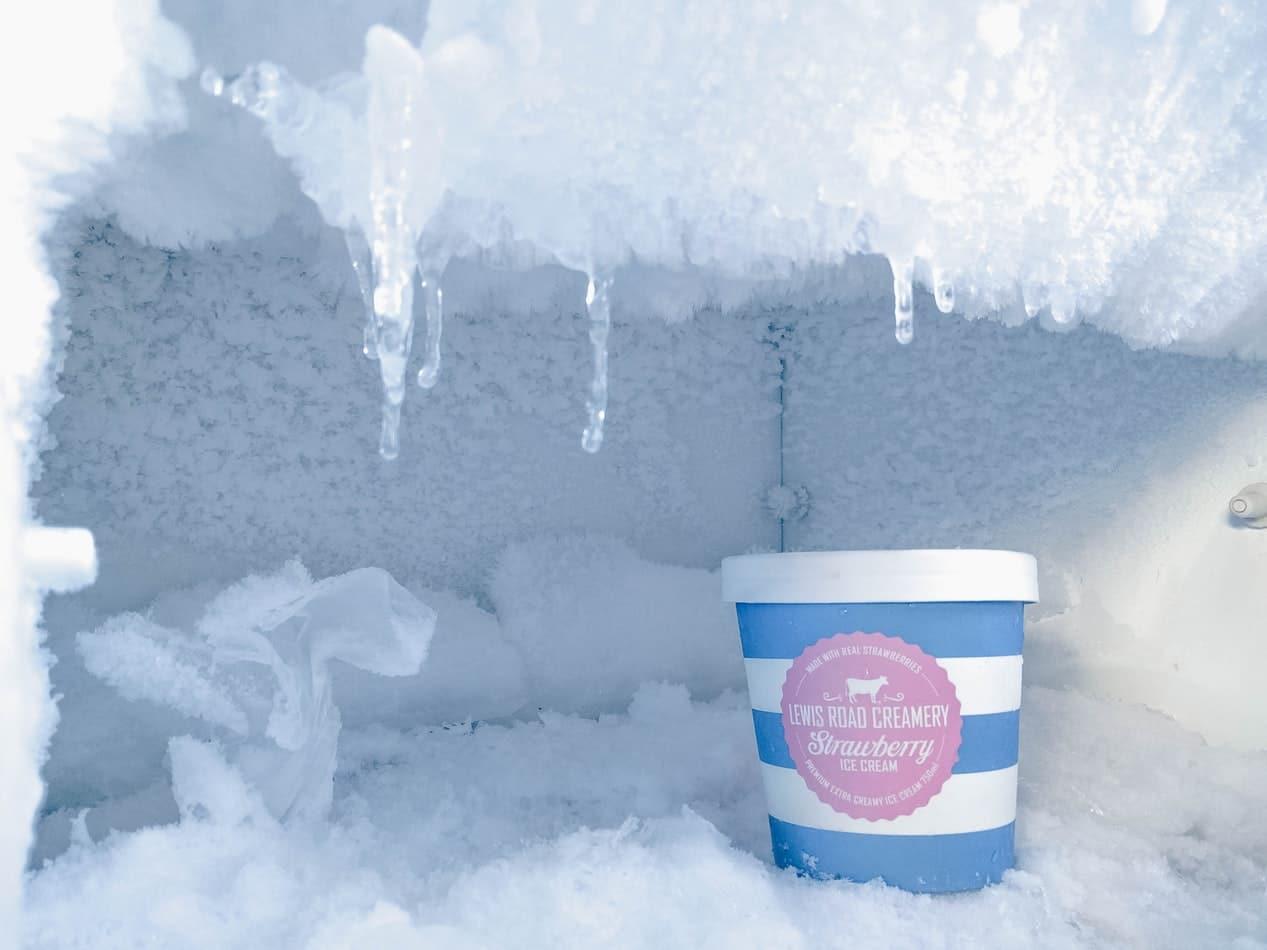 conserver du cbd glace