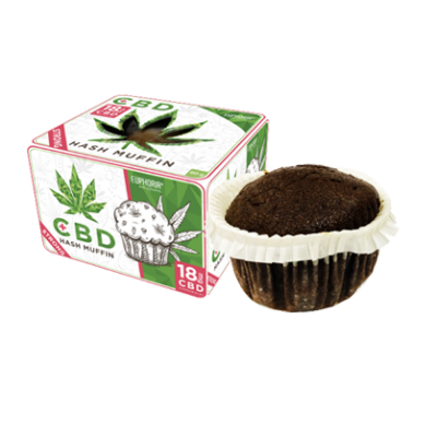 Euphoria Muffin Cannabis 12mg CBD