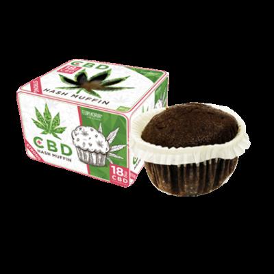 Euphoria Muffin Cannabis 12mg CBD